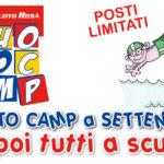 Nuoto Camp a settembre: dal 26 agosto al 6 settembre 2019
